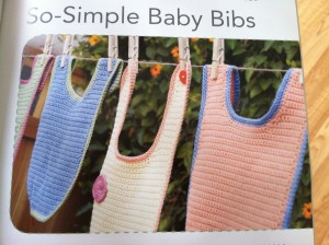 Crocheted Baby Bibs